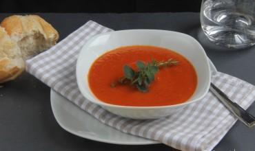 Tomatencremesuppe und -sauce